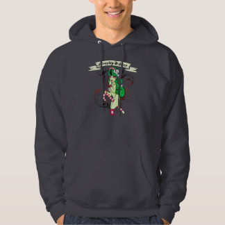 Naughty Or Nice - Basic Hooded Sweatshirt