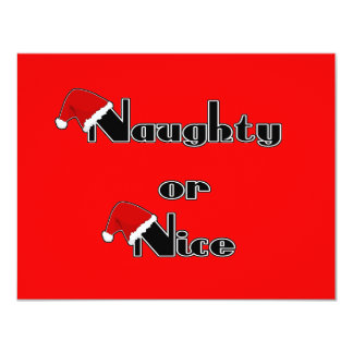 Naughty or Nice Card