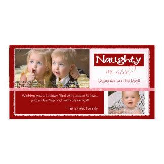 Naughty or Nice   ~   Christmas Card