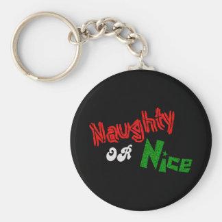 Naughty Or Nice? Key Chain
