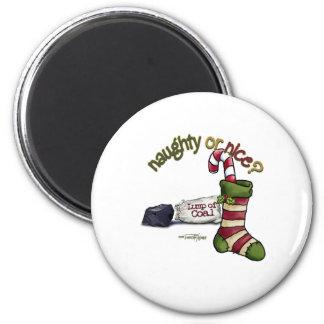 Naughty or Nice Magnet