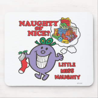 Naughty Or Nice? Mouse Pad