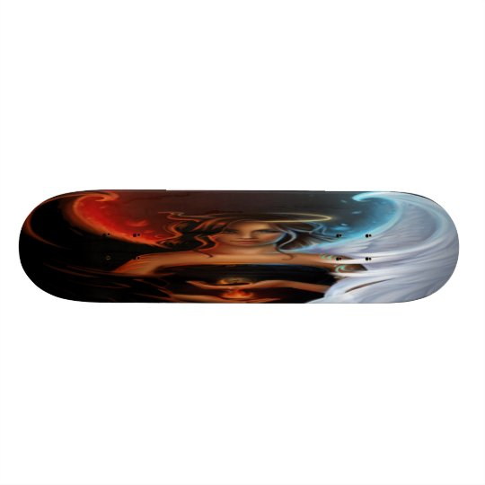 naughty or nice skateboard deck