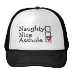 Naughty Or Nice Trucker Hats