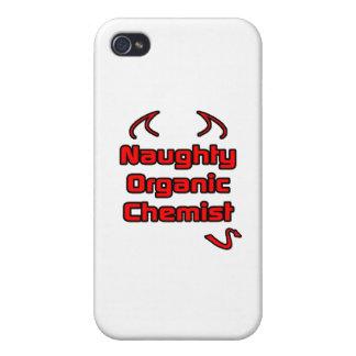 Naughty Organic Chemist iPhone 4 Cases
