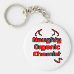 Naughty Organic Chemist Key Chain