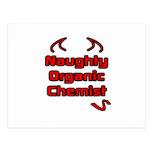 Naughty Organic Chemist Postcard