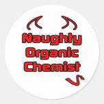 Naughty Organic Chemist Stickers