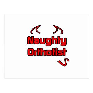 Naughty Orthotist Postcard