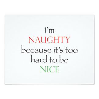 Naughty Over Nice Card