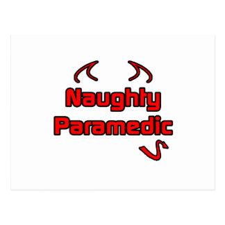 Naughty Paramedic Post Card