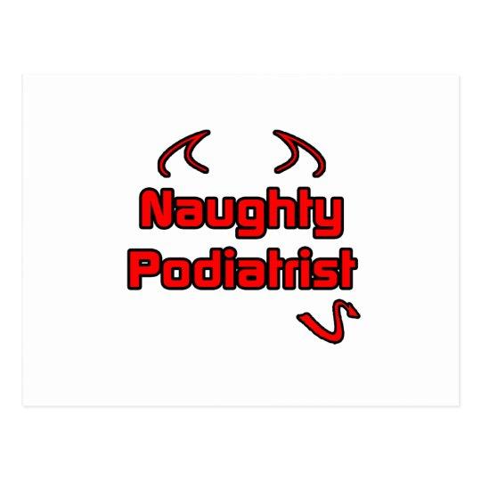 Naughty Podiatrist Postcard