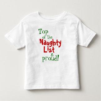 Naughty & Proud, Kids & toddler Toddler T-shirt