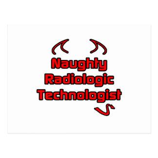 Naughty Radiologic Technologist Post Cards