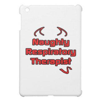 Naughty Respiratory Therapist iPad Mini Cover