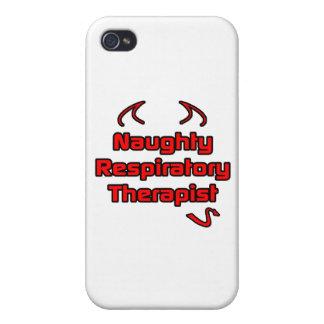 Naughty Respiratory Therapist iPhone 4/4S Case