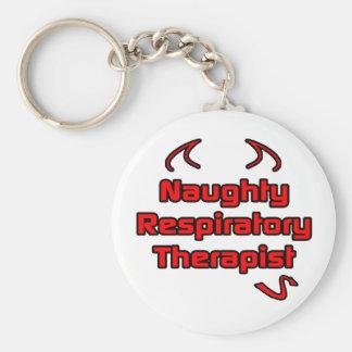Naughty Respiratory Therapist Keychain