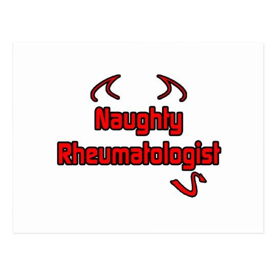 Naughty Rheumatologist Postcard