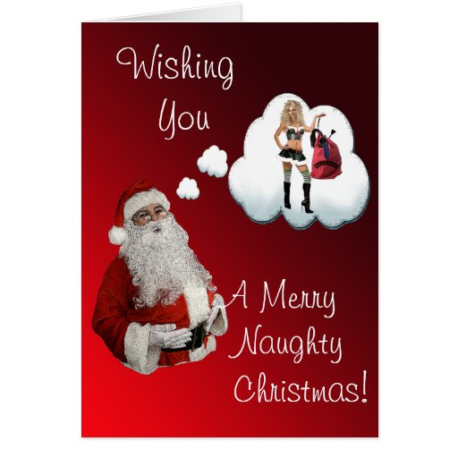 sexy christmas greeting cards