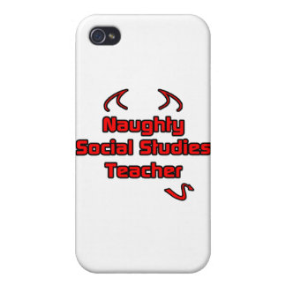 Naughty Social Studies Teacher iPhone 4 Case