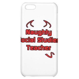 Naughty Social Studies Teacher iPhone 5C Cover