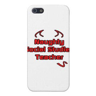 Naughty Social Studies Teacher iPhone 5 Covers