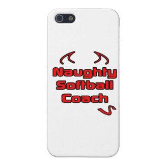 Naughty Softball Coach iPhone 5 Cover