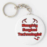 Naughty Surgical Technologist Key Chains