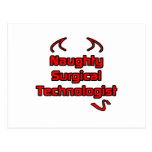 Naughty Surgical Technologist Postcard