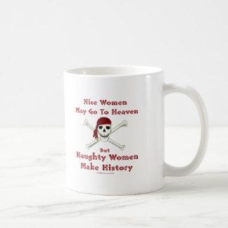 Naughty Women Make History Coffee Mug