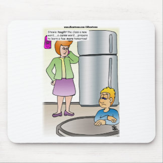 Naughty Words Mouse Pad