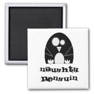 NAUGHTYPENGUIN, Naughty Penguin Magnet