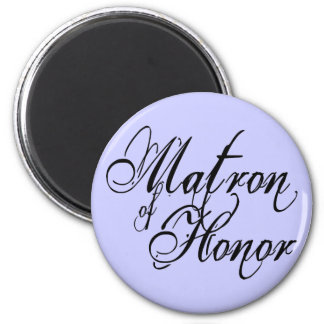 Naughy Grunge Script - Matron Of Honor Black Magnet