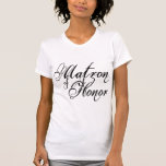Naughy Grunge Script - Matron Of Honor Black Tanktops