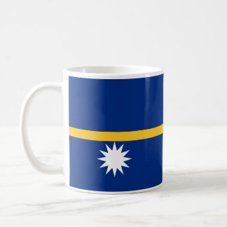 Nauru - bandera nauruana taza clásica