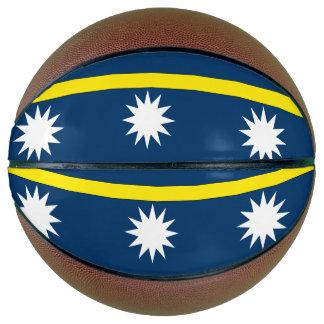 Nauru Flag Basketball