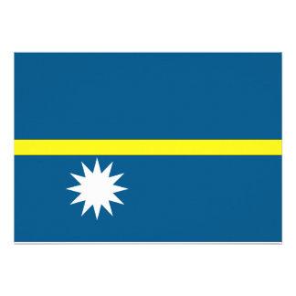Nauru Flag Announcements