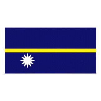 Nauru National Flag Photo Cards