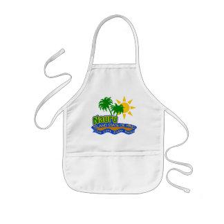 Nauru State of Mind apron - choose style, color