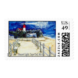 Nauset Light, Cape Cod, MA Postage