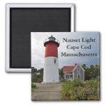 Nauset Light, Cape Cod, Massachusetts Magnet