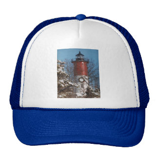 Nauset Light Christmas Trucker Hat