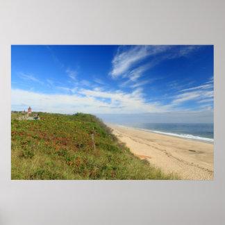 Nauset Lighthouse Beach Cape Cod National Seashore Poster