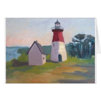 Nauset Lighthouse, Cape Cod Card