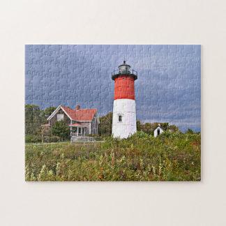 Nauset Lighthouse, Cape Cod Massachusetts Puzzle