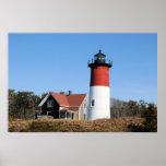 Nauset Lighthouse Print