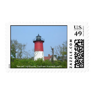Nauset Lighthouse Stamp