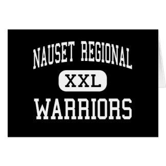 Nauset Regional - Warriors - High - North Eastham Greeting Card