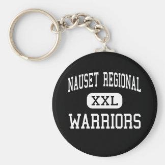 Nauset Regional - Warriors - High - North Eastham Basic Round Button Keychain