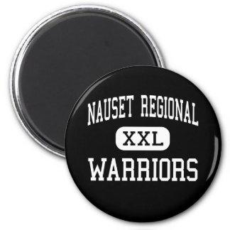 Nauset Regional - Warriors - High - North Eastham 2 Inch Round Magnet